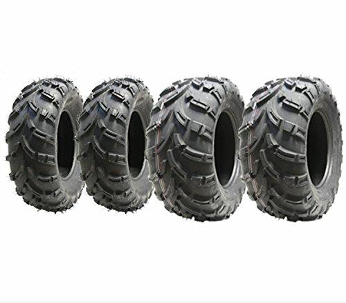 Juego de 4 neumáticos Quad 25X10-12 y 25X8-12 6ply neumático ATV E road marcado legal