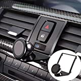 DIYUCAR Soporte para teléfono móvil de ventilación de coche para 1 3 4 series GT F21 F22 F23 F30 F31 F34 F32 F33 F34 F35 F36 F80 F82 M4 2013-2019 (negro)