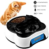 Best Automatic Cat Feeders - Pedy Automatic Cat Feeder 2 in 1, Dog Review