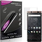 SWIDO Panzerglas Schutzfolie kompatibel mit BlackBerry KeyOne Bronze Edition Bildschirmschutz Folie & Glas = biegsames HYBRIDGLAS, splitterfrei, MATT, Anti-Reflex - entspiegelnd