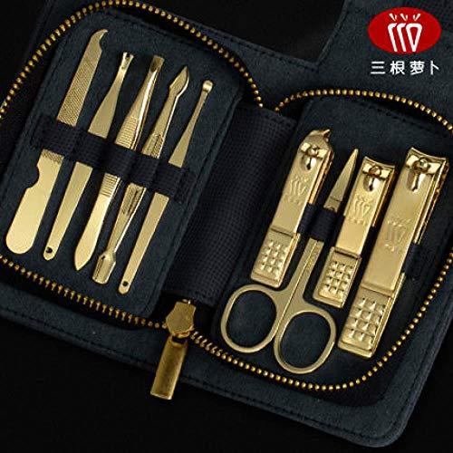 Coupe-Ongles Ensemble Coupe-Ongles Pédicure Couteau Filles Manucure Outils Pour Hommes À Domicile, 9 Ensembles Bleu Royal
