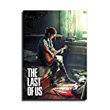 The Last of us - Póster de lienzo para decoración del hogar, cuadros de arte de la pared y regalos para decoración de dormitorio