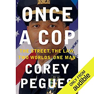 Once a Cop audiobook cover art