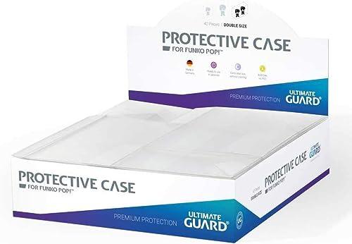 Ultimate Guard Protective Case for Funko POP  igures Double Größe (40) Boxes