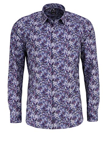 OLYMP Herren Body Popeline Shapewear Grau 41