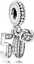 Pandora 50 Years of Love Silver Dangle Charm 797264CZ