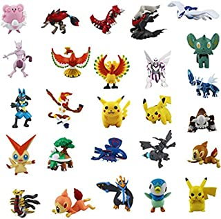 48Pcs/Lot L Figure 2-4Cm Pocket Monster Anime Toys Espeon Glaceon Figurines Must Have Tools Inspirational Gifts Toddler Favourite Superhero Cake Topper Unboxing Box