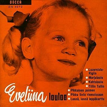 Eveliina laulaa