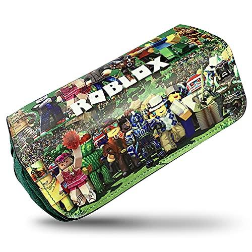 Roblox Estuche Portatodo, Bolsa Lápiz Portable Estuche Organizador para Material...