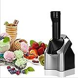 Fabricante de postre congelado, heladería para el hogar 15-20 minutos Helado de fruta deliciosa hecha en casa Helado doméstico Pequeño de limpieza fácil de limpieza Máquina de helados Sorbets y batido