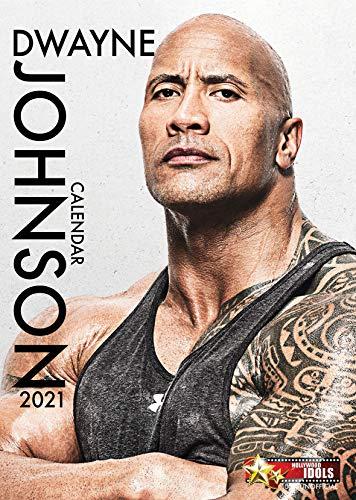 Dwayne'The Rock' Johnson The Fast & Furious & Jumanji Star 2021 Hollywood Idols Calendario A3 Wirobound Il regalo perfetto per compleanno o Natale