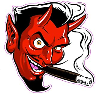 "Smoking Devil Decal 5"" from the United States"