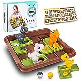 Juegos de Lógica para Niños Juguetes Educativos de Dinosaurio Juego de Tablero Juegos de Rompecabezas para Niños y Niñas 3 4 5 6 7 años