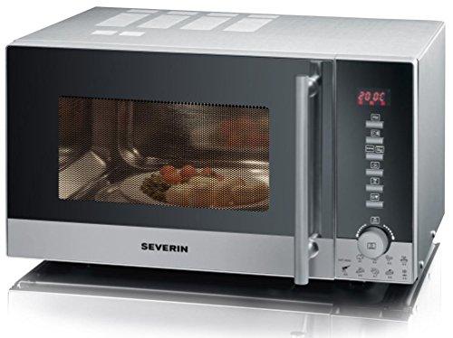 Severin MW 9722 Microonde, Forno Ventilato e Grill, Maniglia Professionale
