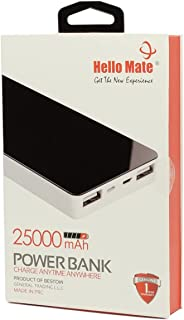 Hello Mate 25000 MAh Power Bank, Charge any time anywhere, Multiple USB Port, Compatible With All Smart Phones, Mobile Pho...