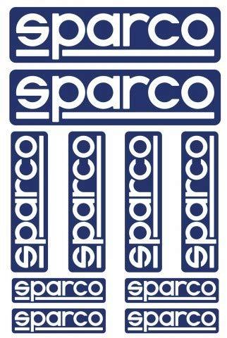 Sparco S09003 Kit DE 10 Pegatinas