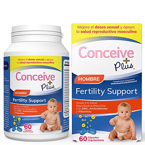 Conceive Plus Male Fertility Support 60Cap, Standard, Single