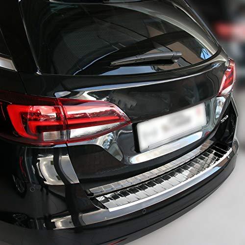 Recambo CT-LKS-1750 Protección para el Borde de Carga de Acero Inoxidable Pulido para Opel Astra K Sports Tourer (a Partir de 2015), Large