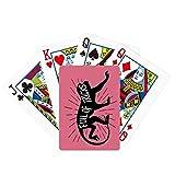 Black Monkey Animal Outline - Juego de mesa de juego de cartas mágicas
