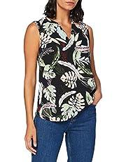 Tom Tailor Denim dames tuniekshirt V-Ausschnitt Tunika