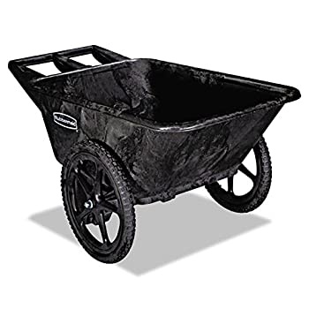 Rubbermaid Commercial Products Tow Wheel Wheelbarrows