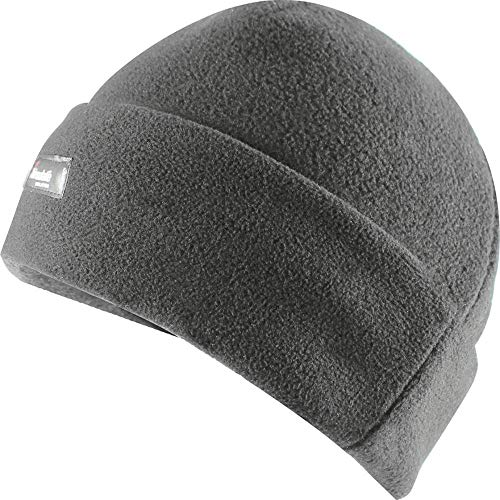 Fleece-Mütze Thinsulate, grau
