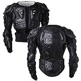 shuojia armatura moto giacca moto protezione di motocross corpo armatura indumenti di protezione completa moto professionale sportivo (black,xl)