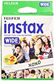 Fujifilm Wide Instant Color Film Instax for 200/210 Cameras - 2 Twin Packs - 40 P.