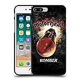 Head Case Designs Ufficiale Motorhead Bomber Arte Chiave Cover Nera in Morbido Gel Compatibile con Apple iPhone 7 Plus/iPhone 8 Plus