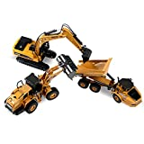 Huina Construction Toys, Pack of 3,...