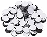 100 Round Self Adhesive Magnetic Circles .5