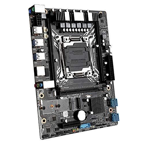 OVBBESS X99-GT Ordenador Placa Base Soporte Xeon E5 2011V3V4 Serie CPU DDR4 Memoria M.2 WIFI Interfaz de Escritorio Juego Placa Base