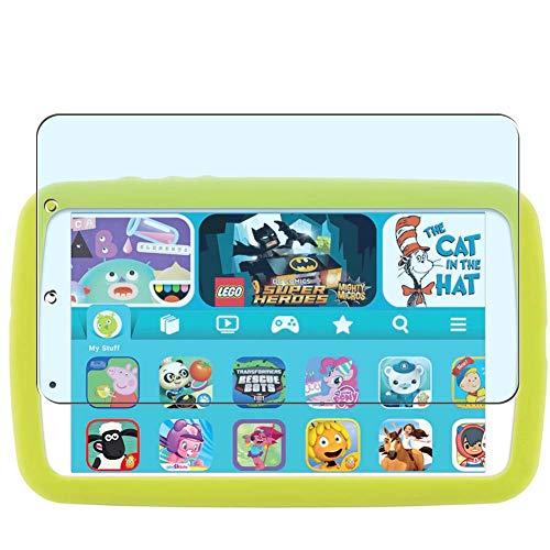 Vaxson 2 Unidades Protector de Pantalla Anti Luz Azul, compatible con Samsung Galaxy Tab A Kids Edition 2019 8' [No Vidrio Templado] TPU Película Protectora