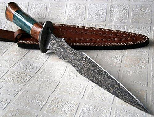RAM-4789 Damascus Steel 14.50 Inches Dagger Knife