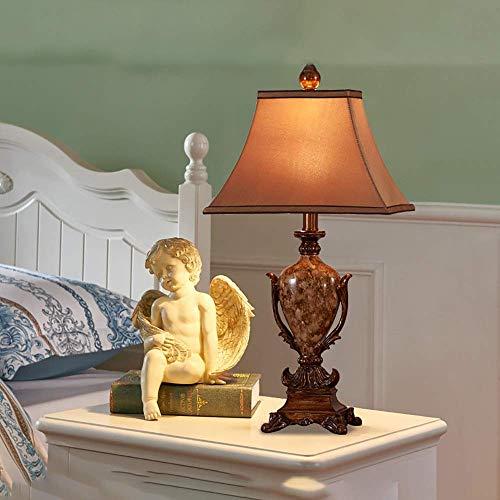 Lámpara Escritorio Dormitorio Retro lámpara de Comedor Junto a la Cama Moda Creativa cálida Sala de Estar lámpara de Mesa 38 * 70 cm (Control Remoto) (Color:38 * 70 cm) (Size : 30 * 50cm)