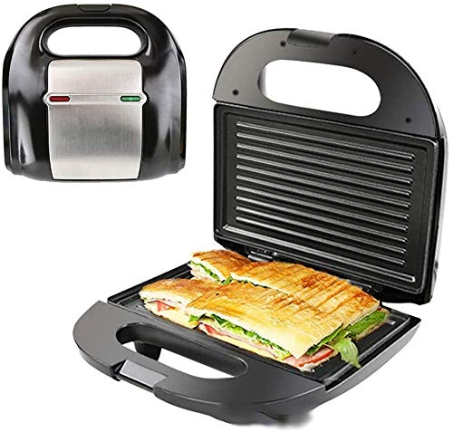 XiaoDong1 Sandwich Toaster, Deep Non-Stick Coating Plates, Automatic Temperature Control