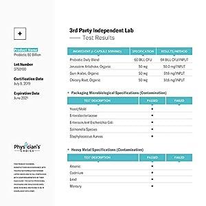 Probiotics 60 Billion CFU - Dr. Approved Probiotics for Women, Probiotics for Men and Adults, Natural; Shelf Stable Probiotic Supplement with Organic Prebiotic, Acidophilus Probiotic; 30 Capsules #4
