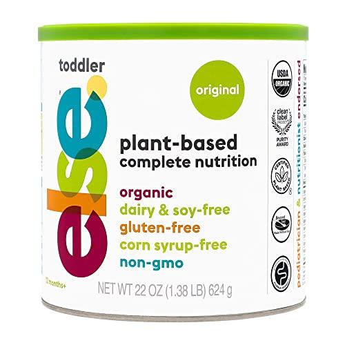 Else Plant-Based Complete Nutrition Formula for Toddlers, 22 Oz.,...