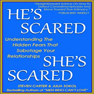 He's Scared, She's Scared audiobook cover art