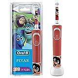 Oral-B Kids Spazzolino Elettrico Ricaricabile, 1 Manico con Personaggi Disney il Meglio di Pixar, dai 3 Anni in Su