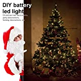 2er Stück 10M 100 LED Lichterkette 8 Modi Außenbeleuchtung Batteriebetrieben Kupferdraht Wasserdicht IP67 mit Fernbedienung und Timer für Outdoor, Innenbeleuchtung,Weihnacht und Deko-Warmweiß - 4