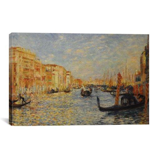 iCanvasART 1132Grand Canal Venedig LEINWAND Kunstdruck Auguste Renoir, 26 by 18-Inch, 0.75-Inch Deep