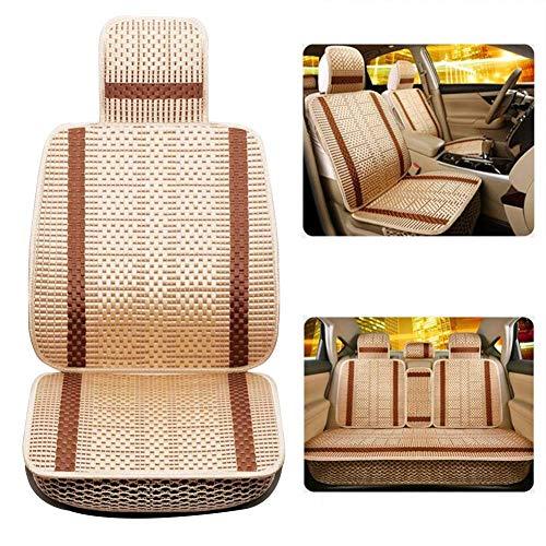 GJHK Funda protectora para asiento interior del coche, cojín de refrigeración transpirable, alivia la fatiga para suministros de automóviles, 3 colores (color rojo, tamaño: B)
