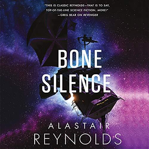 Bone Silence audiobook cover art