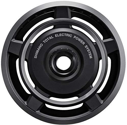 Shimano Steps FC-E6000, Corona, 38 Denti, Nero