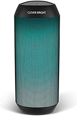 LED Bluetooth Speaker,Night Light Wireless Speaker,Portable Wireless Bluetooth Speaker Outdoor,7 Color LED Themes,Handsfree/Phone/PC/AUX/TWS Supported from VIMC