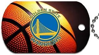 Warriors Basketball Dog Tag with 30