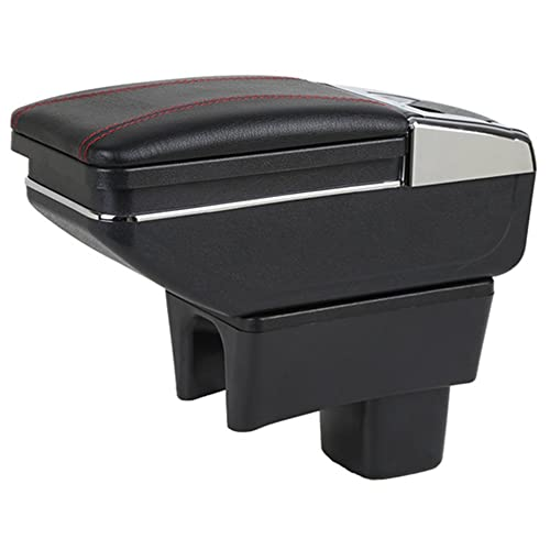 Maiqiken Car Armrest Box Arm Rest Black for Suzuki Swift 2005-2018 Car Storage Box