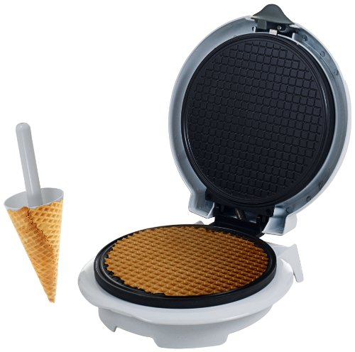 Chef Buddy 82-MM1234 waffle cone maker, normal, White