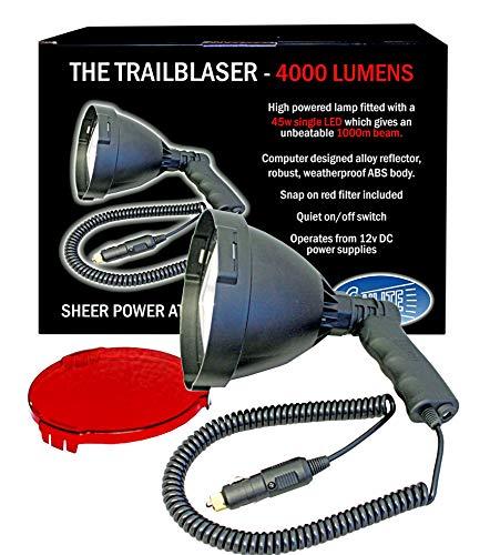 Clulite The Trailblaser Lampe à LED Mixte, Noir, Taille Unique
